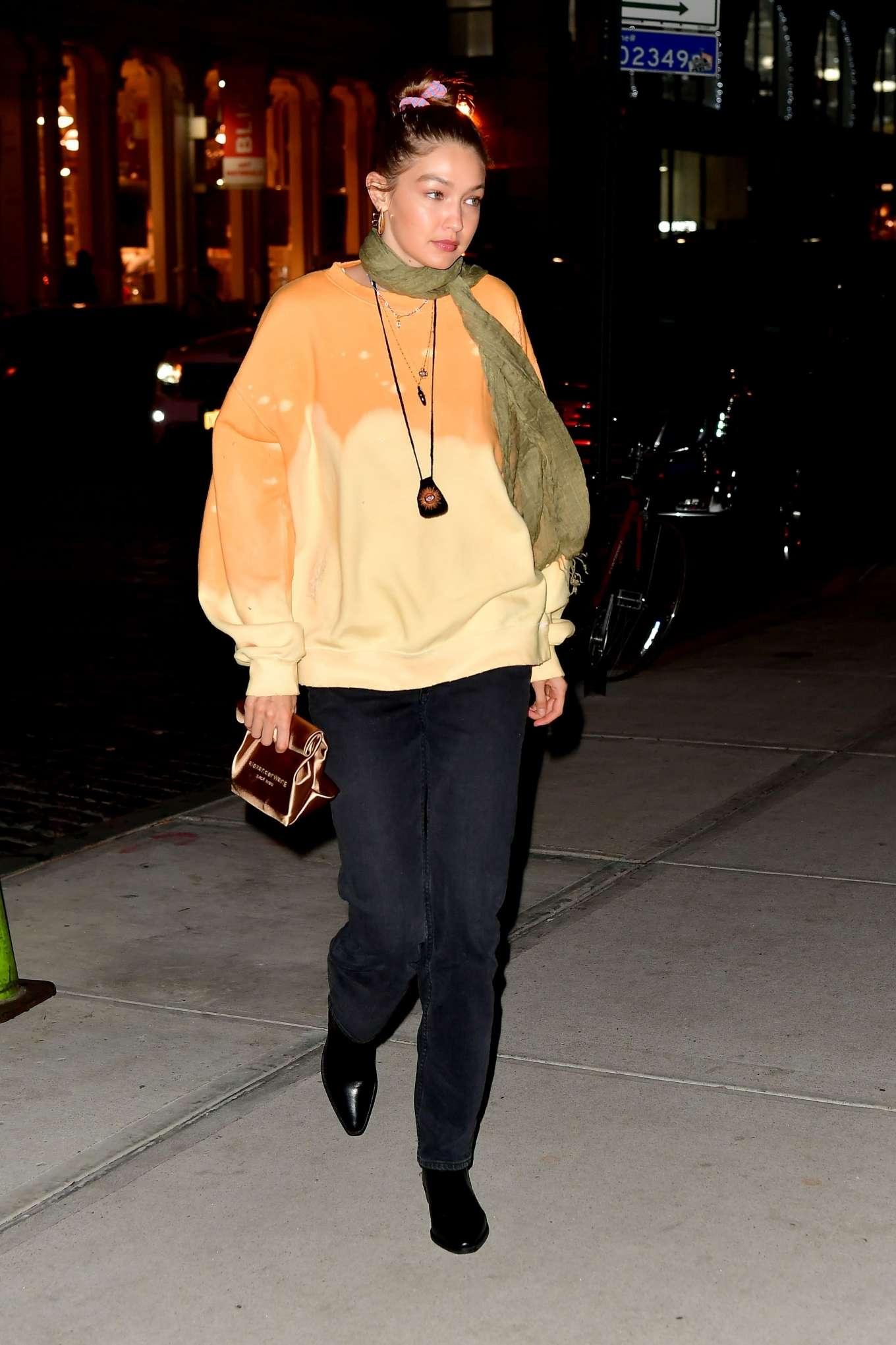 Gigi Hadid 2019 : Gigi Hadid – Leaving La Esquina Restaurant-16