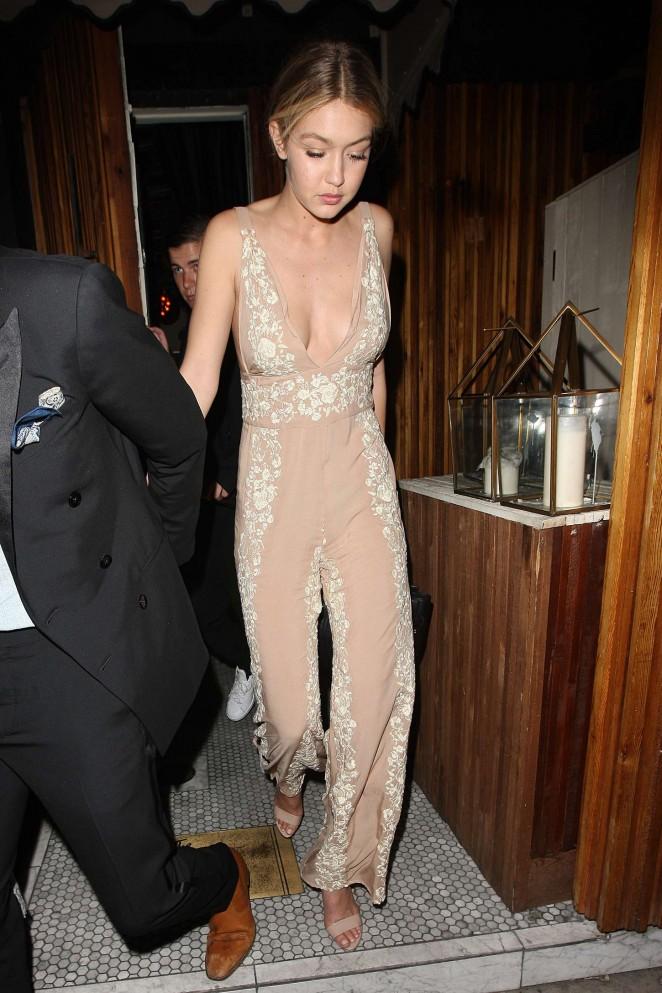 Gigi Hadid - Leaving 'The Nice Guy' in LA