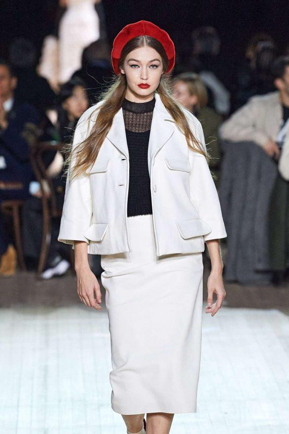 Gigi Hadid - Marc Jacobs Fall 2020 Runway Show at New York Fashion Week