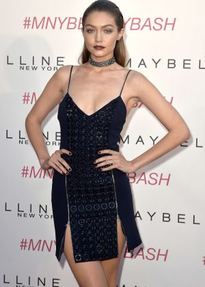 Gigi Hadid - Maybelline New York Beauty Bash in Los Angeles