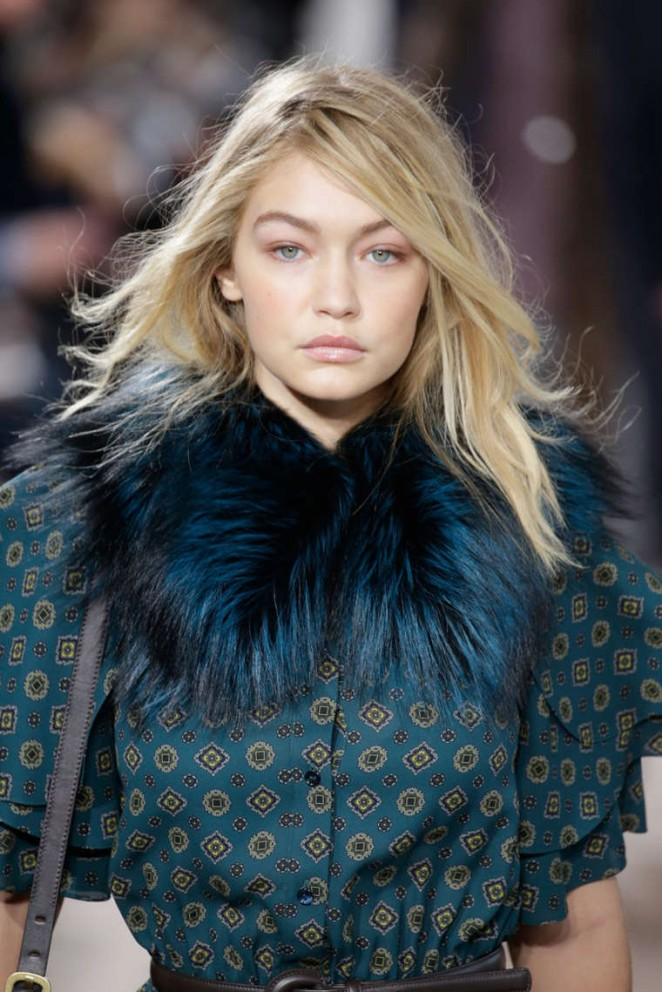 Gigi Hadid - Michael Kors Fashion Show 2015 in NYC