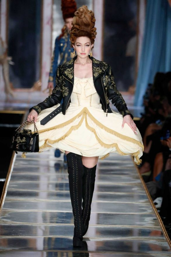 Gigi Hadid - Moschino Fashion Show in Milan