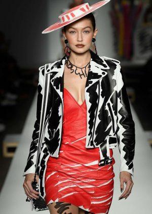 Gigi Hadid - Moschino Runway Show in Milan