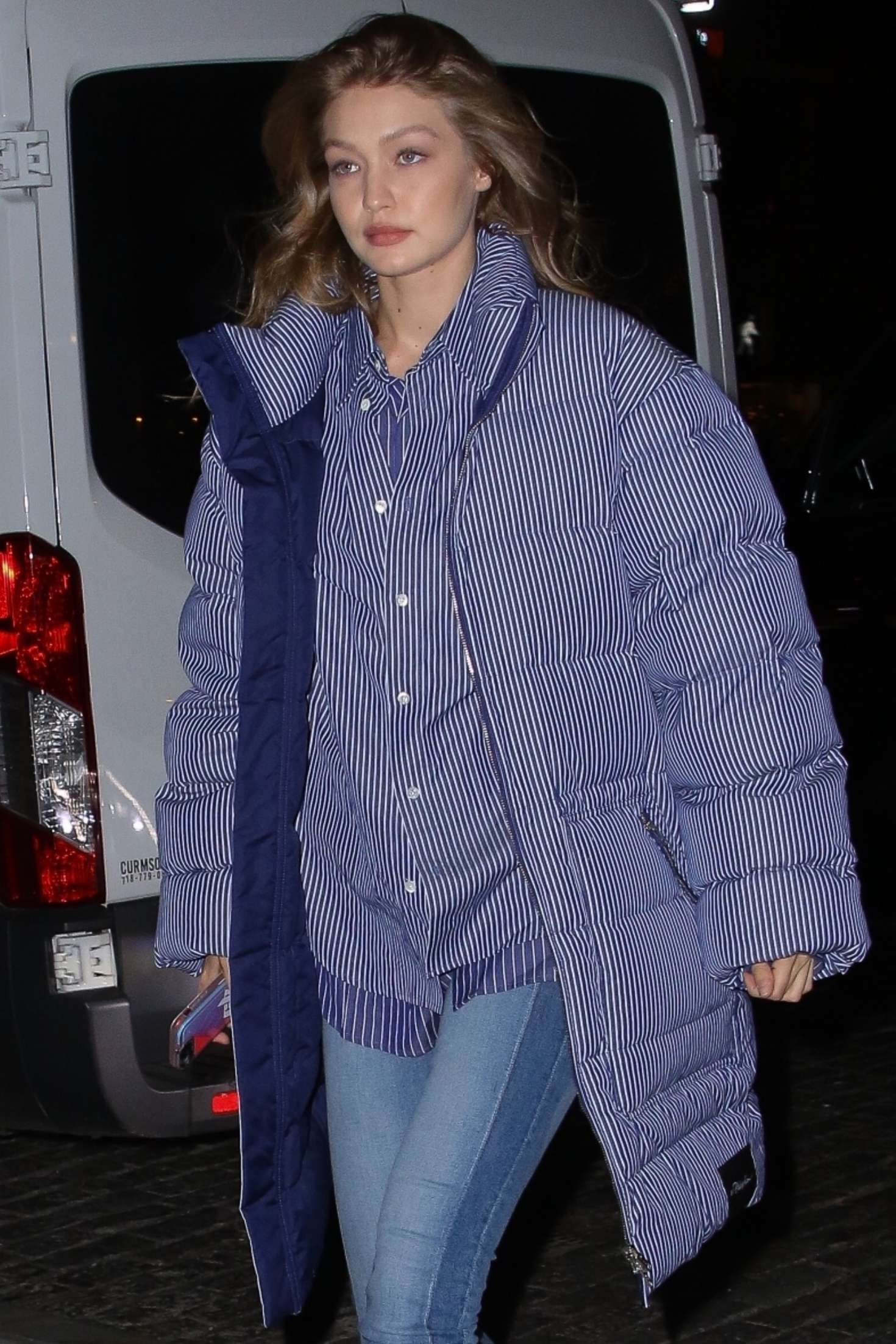 Gigi Hadid - Night out in New York City