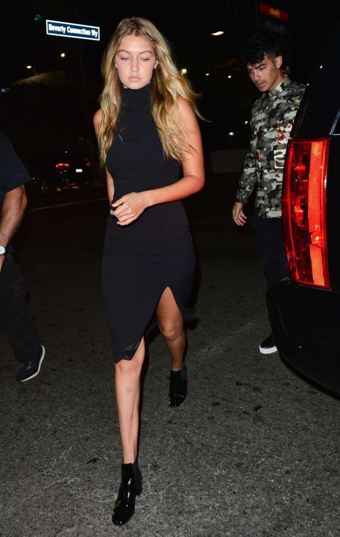 Gigi Hadid Black Dresses
