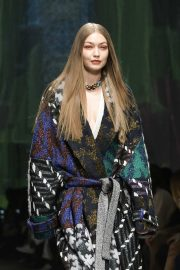 Gigi Hadid - on the runway for Missoni in Milan