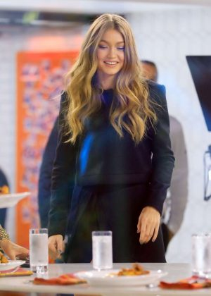 Gigi Hadid - On the Today Show in NYC