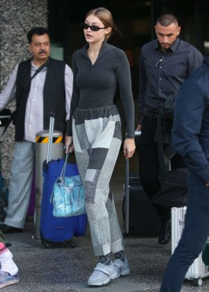 Gigi Hadid - Out and about in Milan