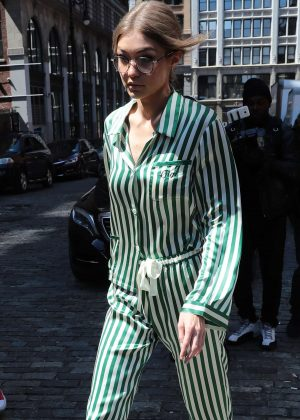 Gigi Hadid out and about in New York City