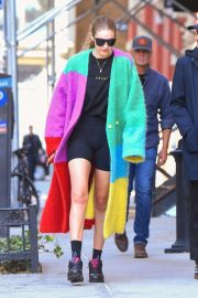 Gigi Hadid - Out and about in NY