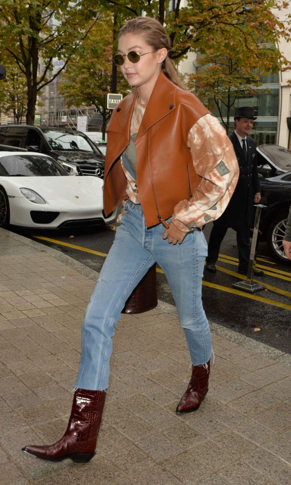 Gigi Hadid - Out and about in Paris