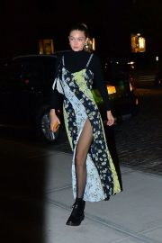 Gigi Hadid - Out for a dinner party in NY