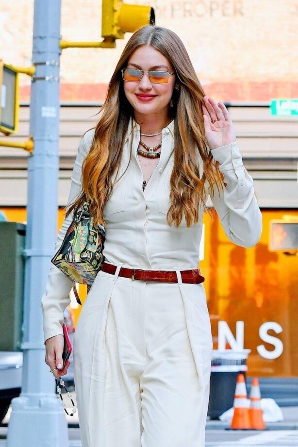 Gigi Hadid - Out for a stroll through New York City