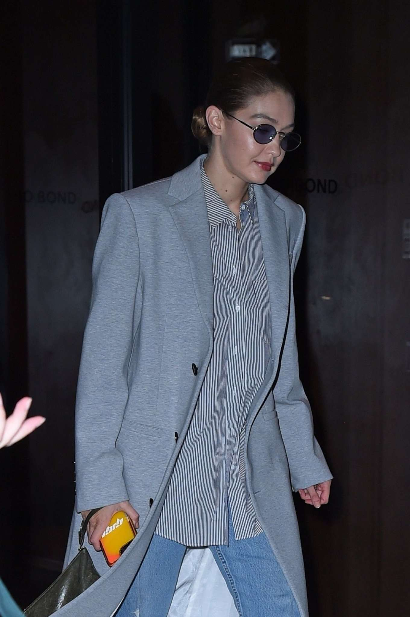 Gigi Hadid - Out for dinner in NY