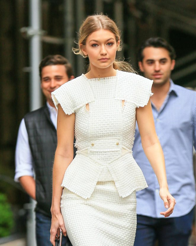 Gigi Hadid - Out for lunch in New York
