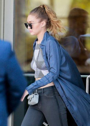 Gigi Hadid out in Los Angeles