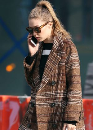 Gigi Hadid - Out in New York City