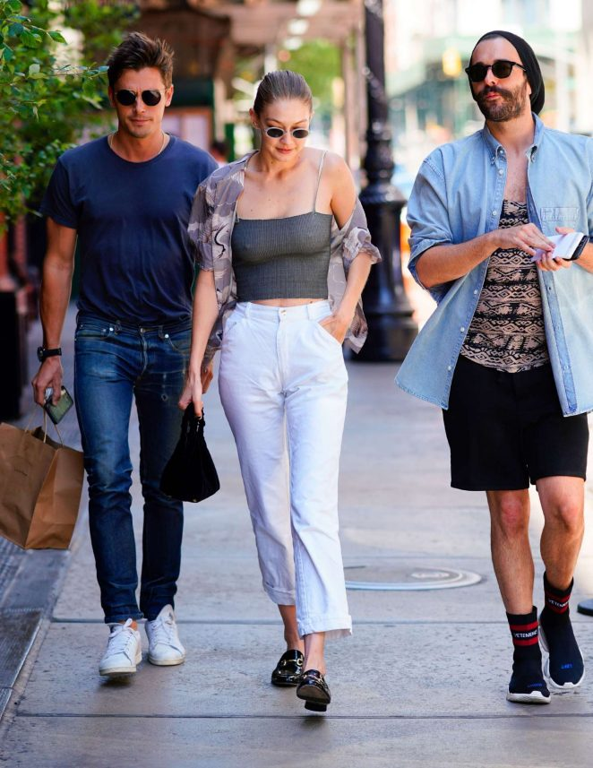 Gigi Hadid: Out in New York City -11