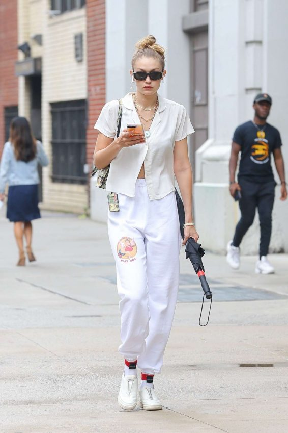 Gigi Hadid - Out in NY