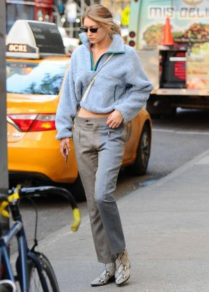Gigi Hadid - Out in NYC