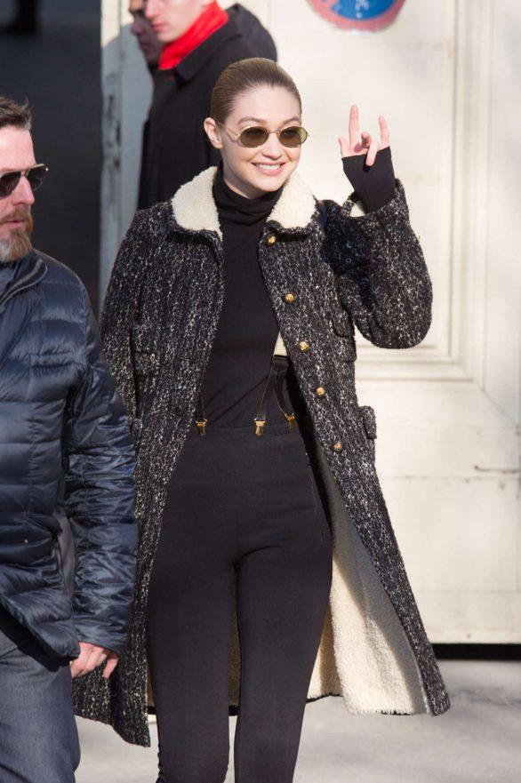Gigi Hadid - Out in Paris