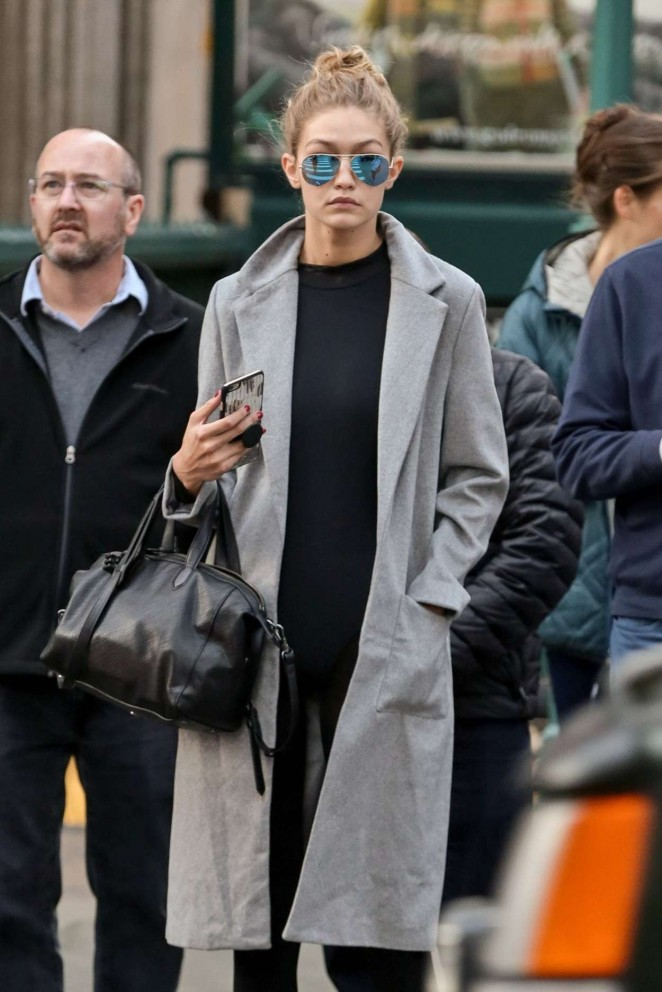 Gigi Hadid out Shopping in New York