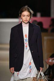 Gigi Hadid - Prada Resort 2020 Fashion Show in NYC