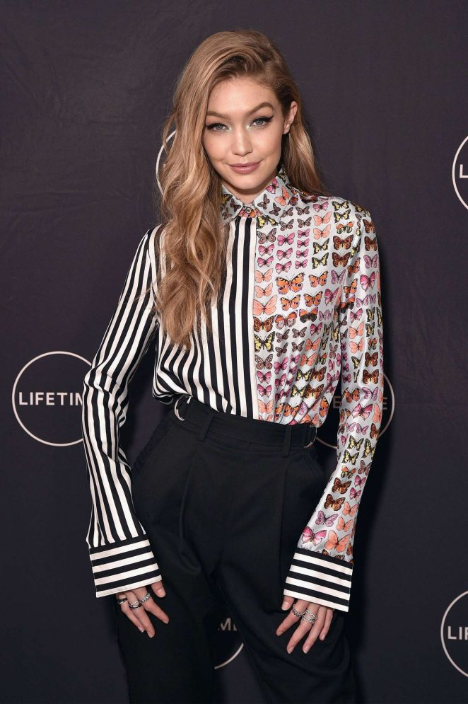 Gigi Hadid - Premiere of 'Making A Model With Yolanda Hadid' in NY