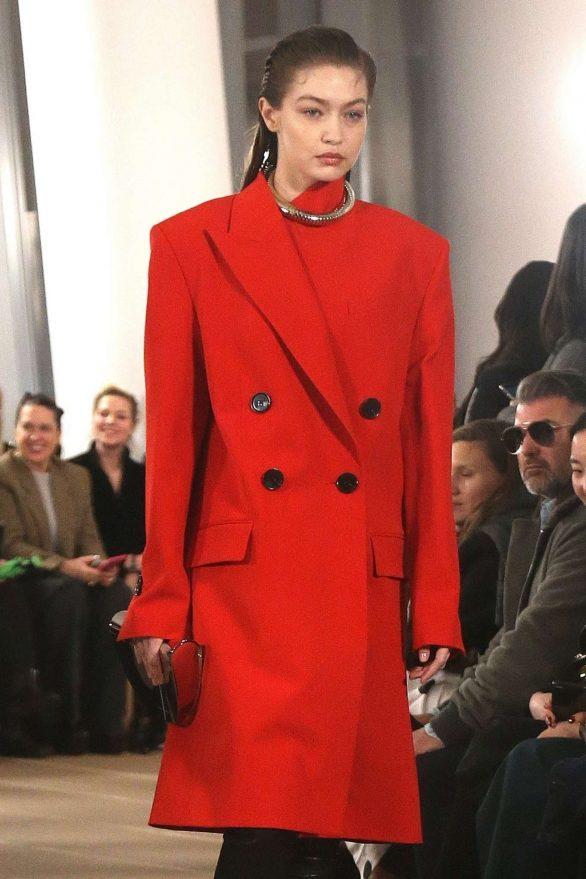 Gigi Hadid - Proenza Schouler at 2020 New York Fashion Week