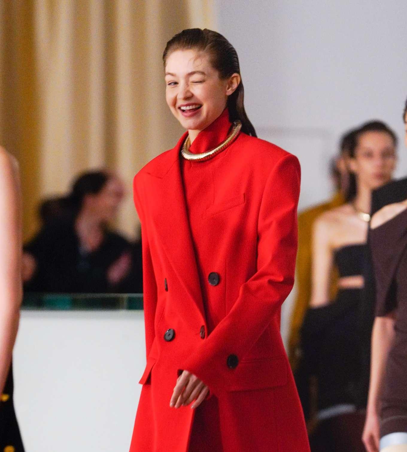 Gigi Hadid 2020 : Gigi Hadid – Proenza Schouler at 2020 New York Fashion Week-04