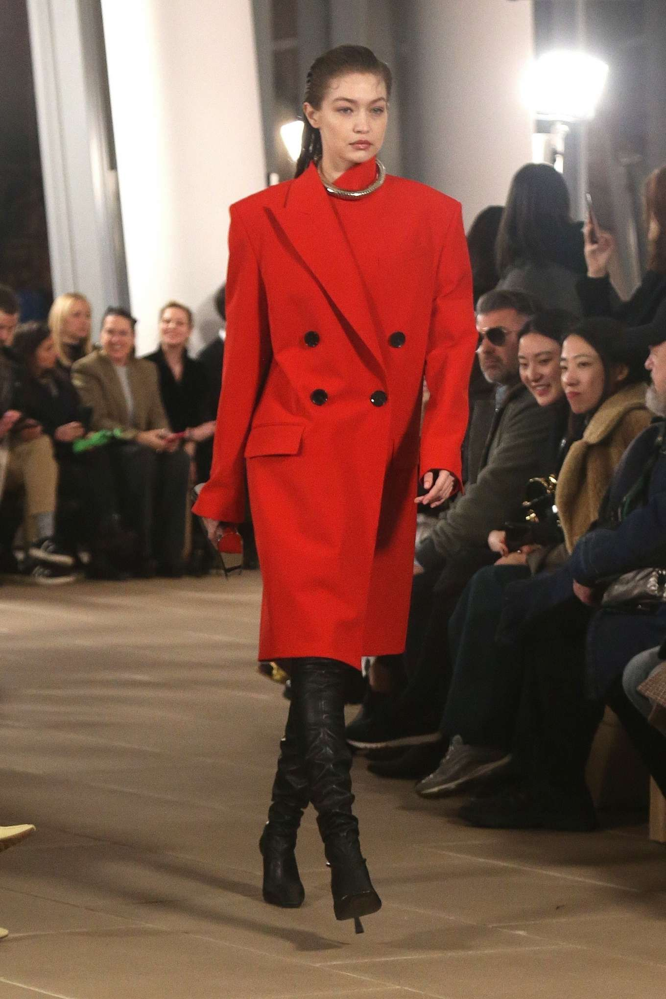Gigi Hadid 2020 : Gigi Hadid – Proenza Schouler at 2020 New York Fashion Week-06