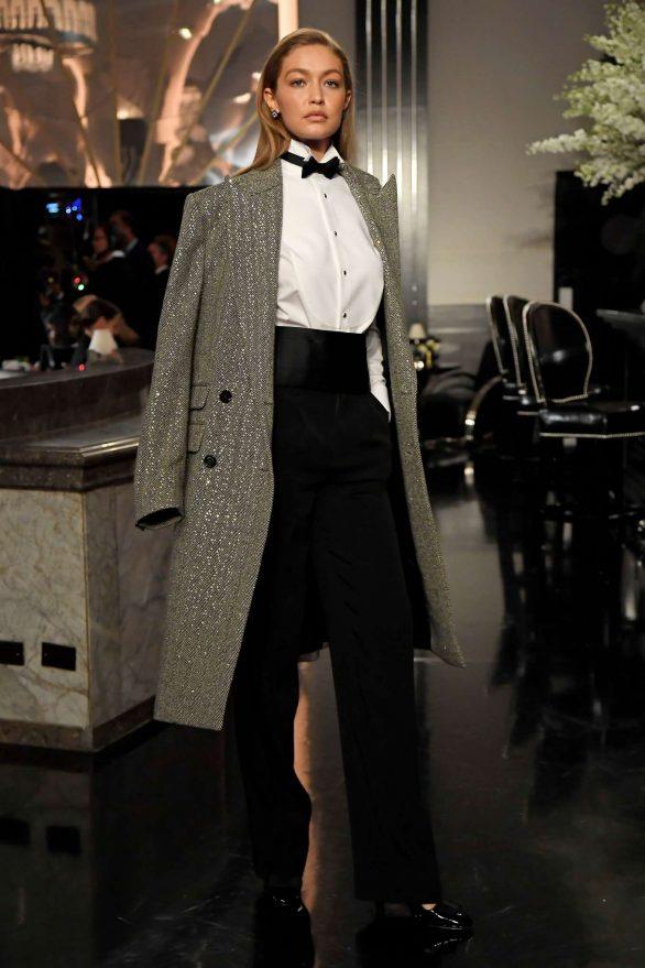 Gigi Hadid - Ralph Lauren Runway Show in NYC