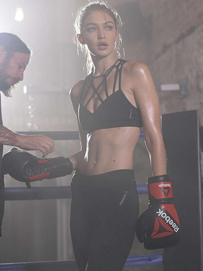 Gigi Hadid - Reebok 'Perfect Never' Campaign 2016