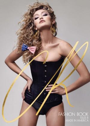 Gigi Hadid - CR Fashion Book 8 Photoshoot 2016