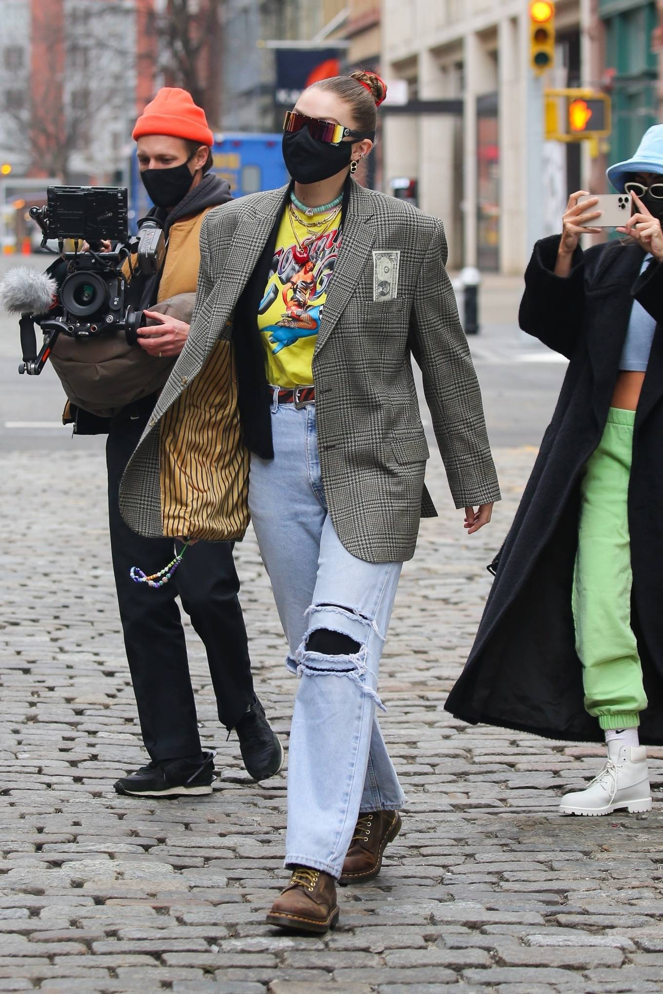 Gigi Hadid - Seen out and about in New York