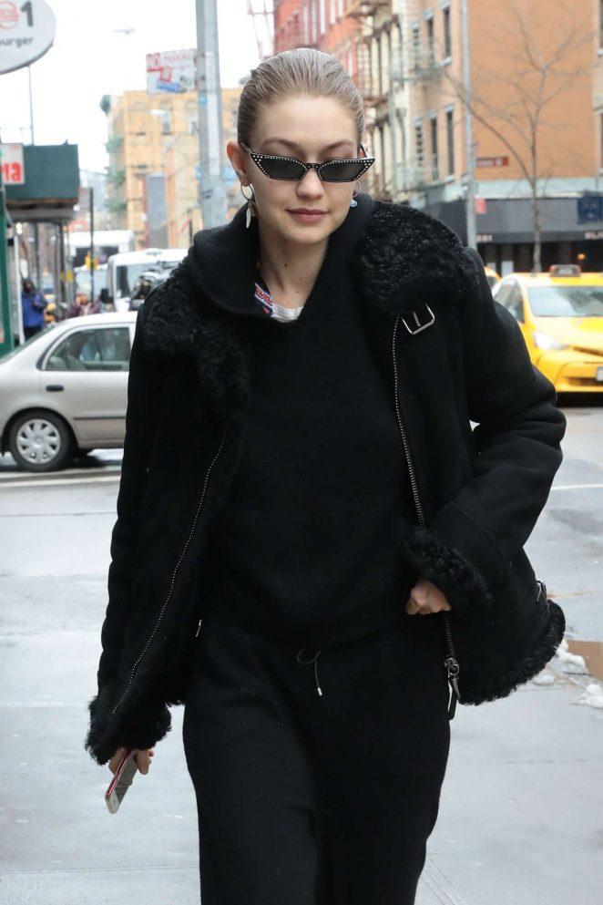 Gigi Hadid - Shopping at Murray's in New York City