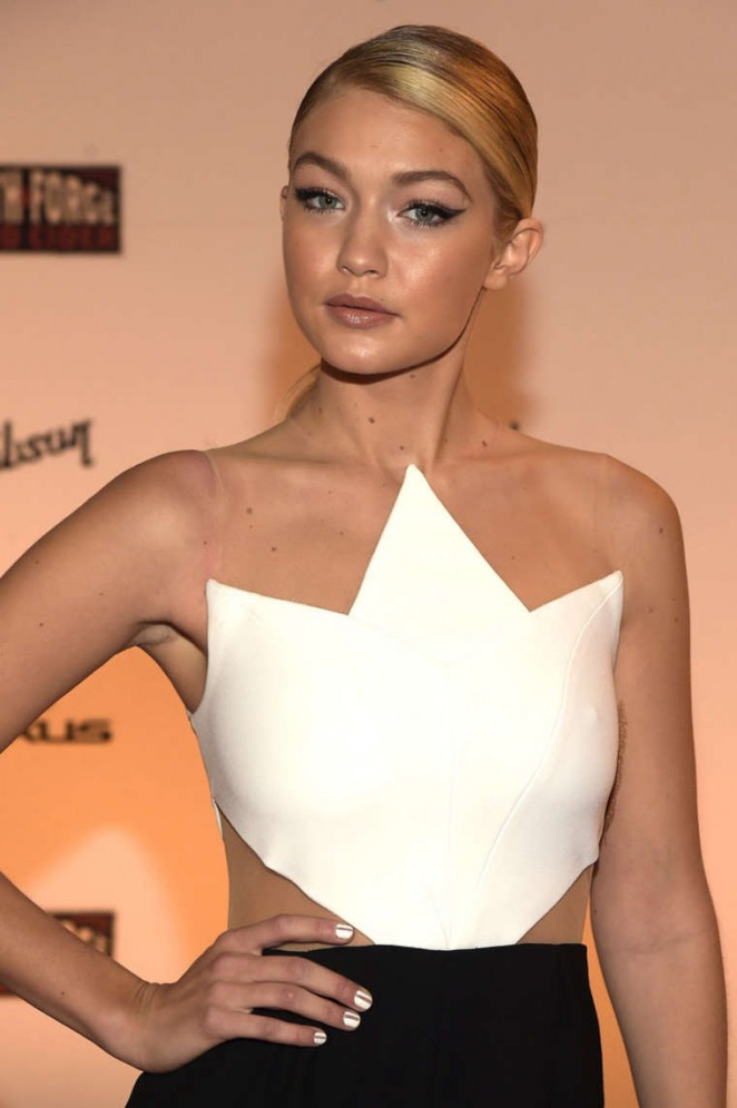 Gigi Hadid - SI 2015 Swimsuit Takes Over the Schermerhorn Symphony Center in Nashville