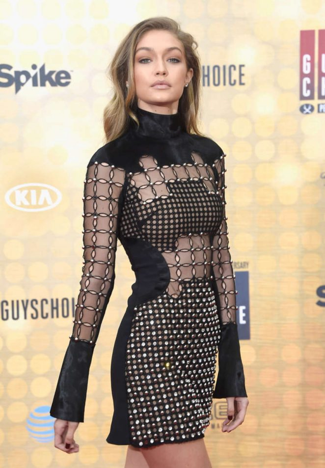 Gigi Hadid - Spike TV 10th Annual Guys Choice Awards in Culver City