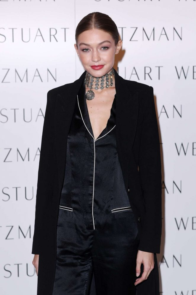 Gigi Hadid - Stuart Weitzman Boutique Opening in London