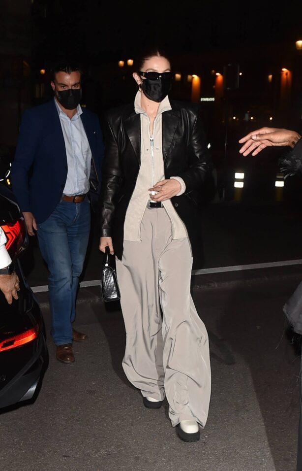 Gigi Hadid - Thierry Mugler - Couturissime Photocall at a Paris Fashion Week