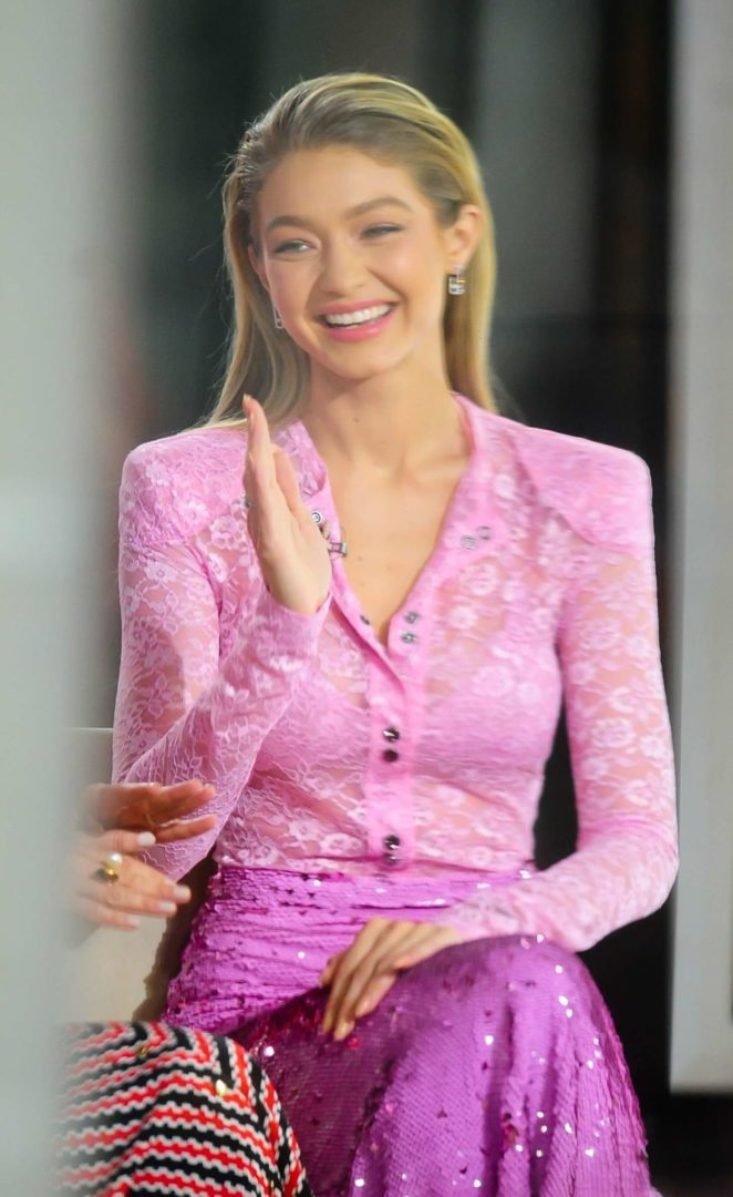 Gigi Hadid - 'Today' Show at Rockefeller Center in New York City