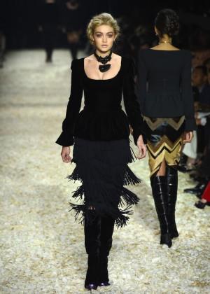 Gigi Hadid - Tom Ford 2015 Womenswear Collection Presentation in LA