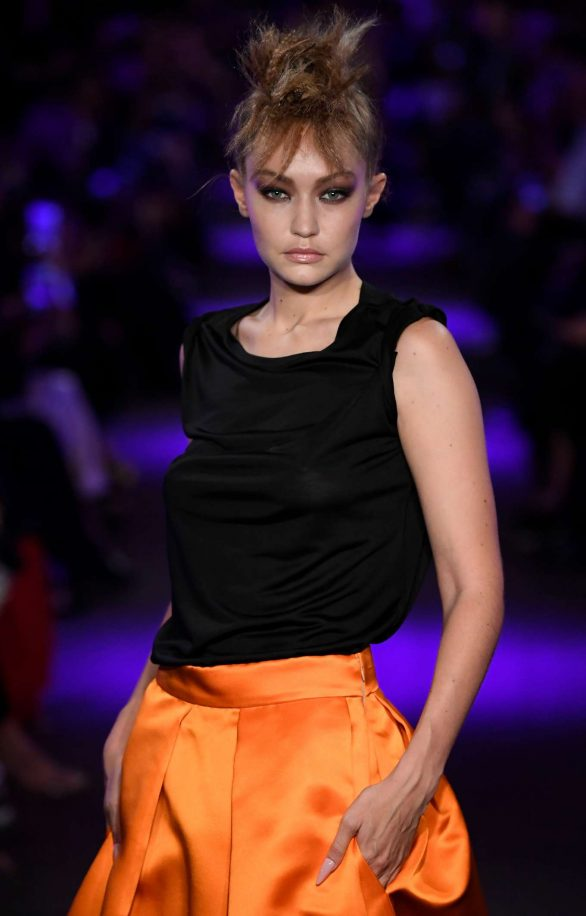 Gigi Hadid - Tom Ford Runway Show in NYC