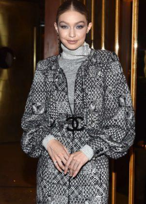 Gigi Hadid - V Magazine dinner in honor of Karl Lagerfeld in New York