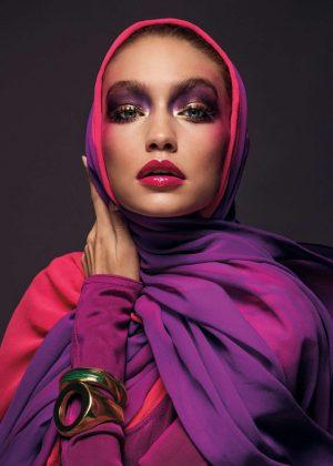 Gigi Hadid - Vogue Arabia Magazine (March 2017)