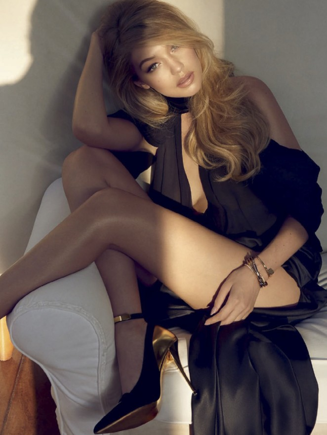 Gigi Hadid - Vogue Brazil (July 2015) adds