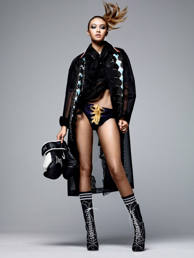 Gigi Hadid - Vogue China Magazine (March 2016)