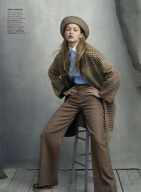 Gigi Hadid - Vogue Magazine (August 2019)