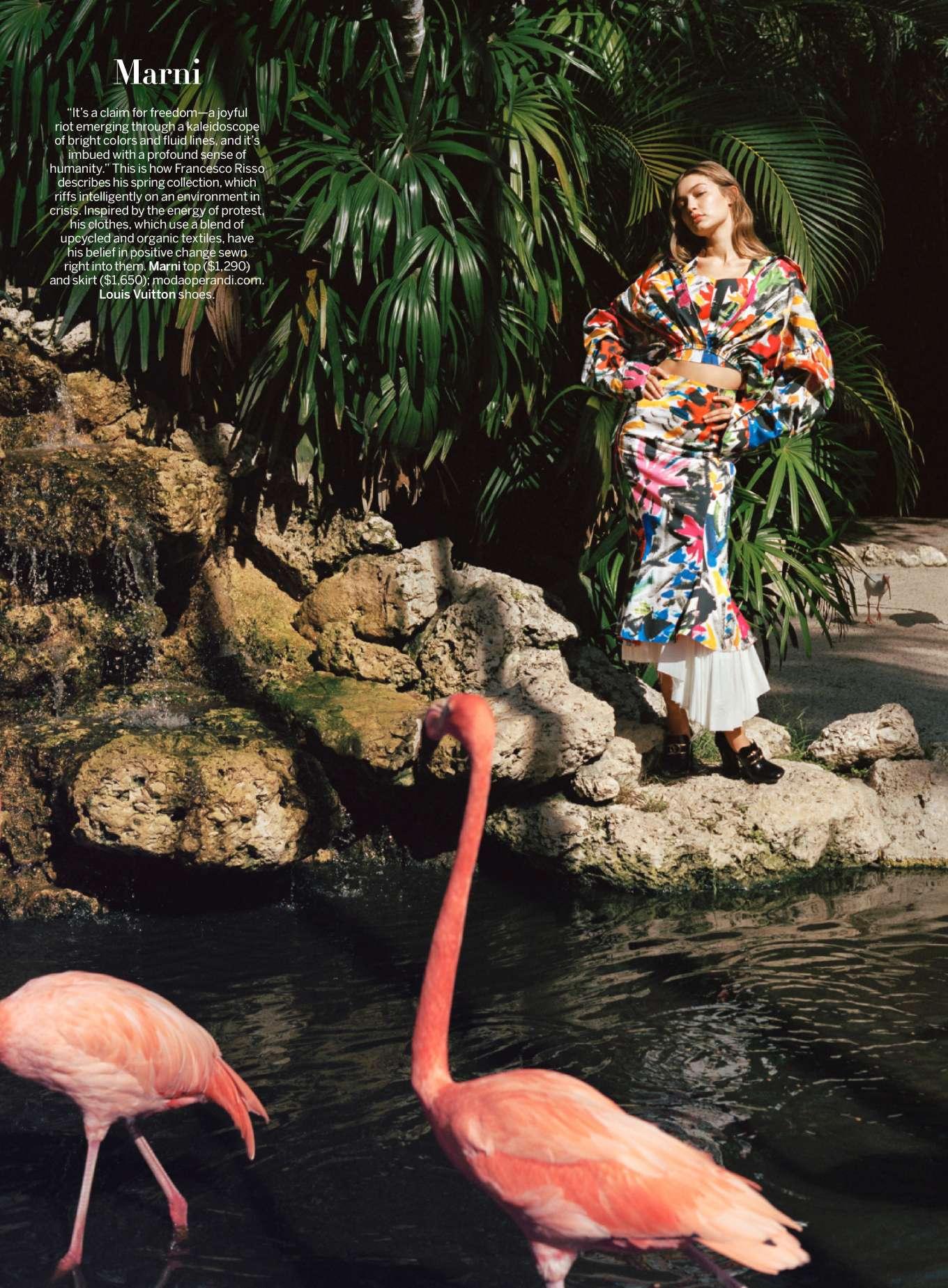 Gigi Hadid 2019 : Gigi Hadid – Vogue Magazine (January 2020 issue)-05