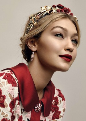 Gigi Hadid - Vogue Magazine (July 2015)